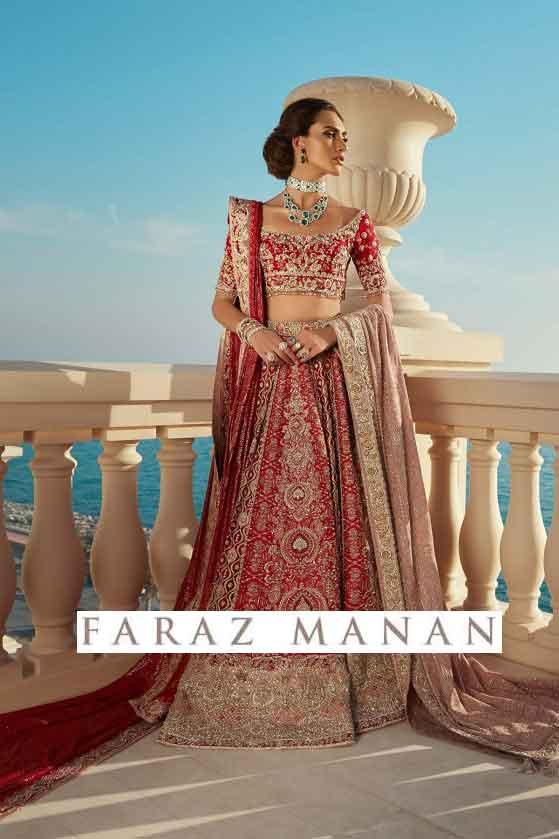 majesty bridal dress faraz manan